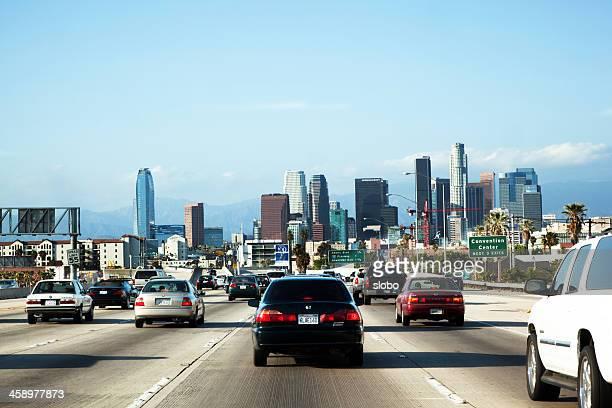 Entering Los Angeles