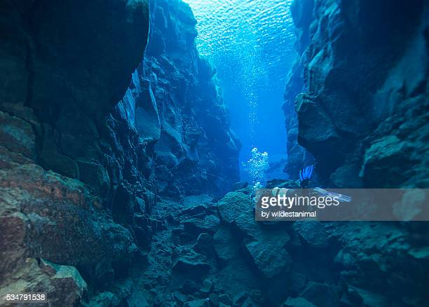 entering the cathedral - plate tectonics stock photos and pictures