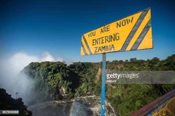 ザンベジ川上ザンビア記号を入力 - ザンビア ストックフォトと画像