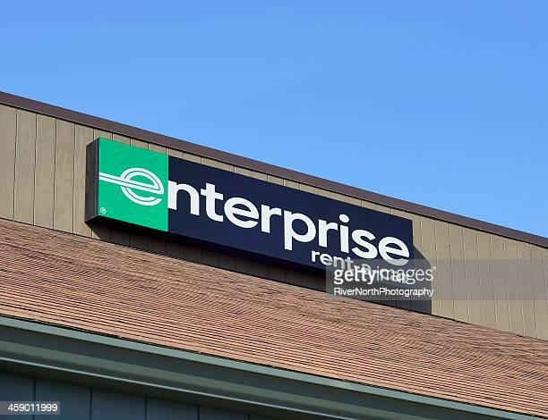 enterprise rent-a-car - aluguel de carro - fotografias e filmes do acervo