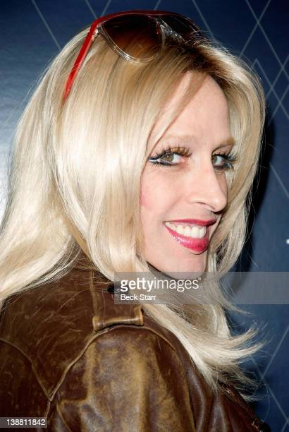 Entertainer Alexis Arquette arrives at UG with The Embassy present 2012 GRAMMYS celebration in partnership with Heineken and Jet Blue at Hollywood...