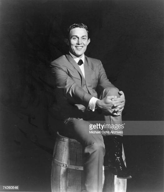 Entertainer and businessman Jimmy Dean poses for a portrait in circa 1960