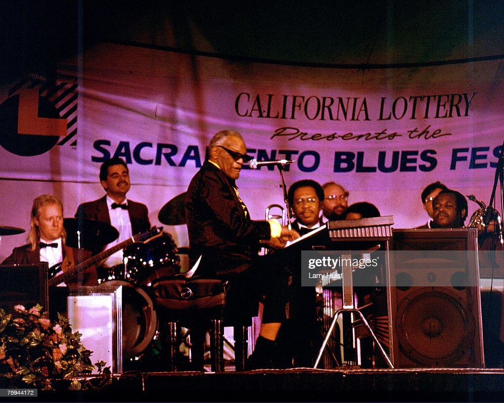 Ray Performing At The Sacramento Blues Festival : News Photo