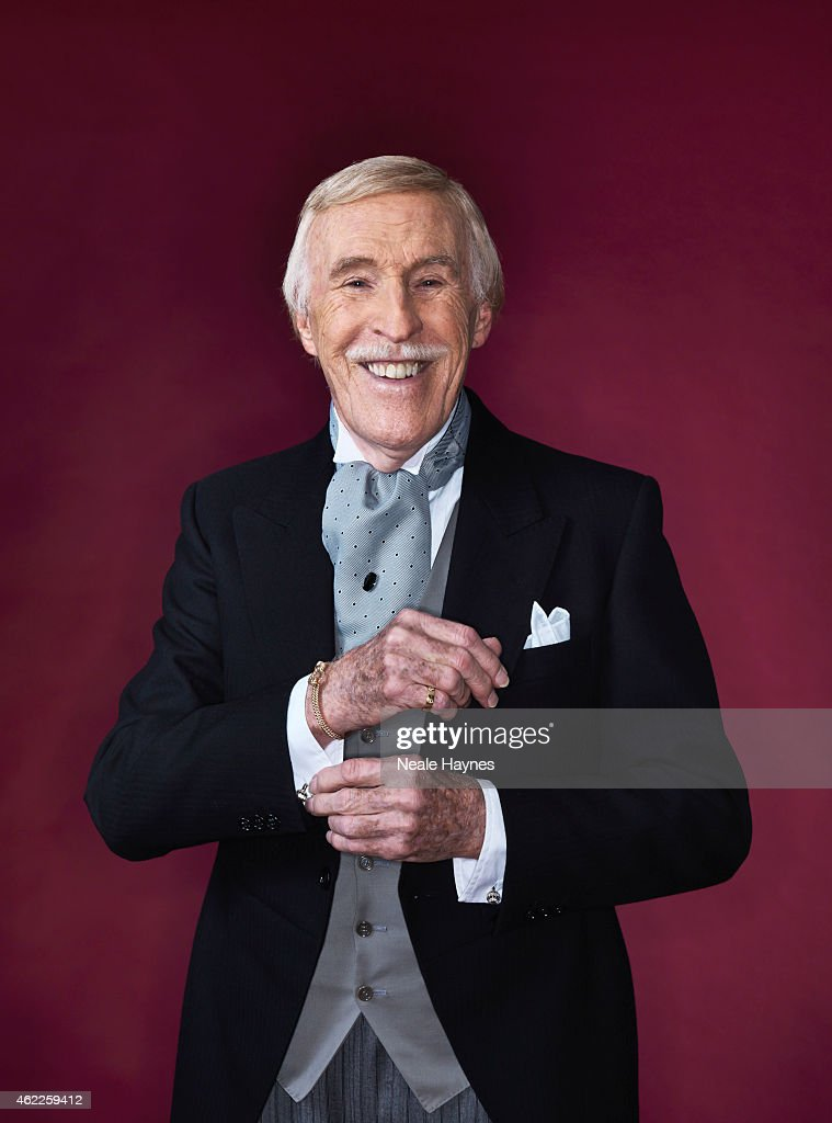 Entertainer and tv presenter Bruce Forsyth is photographed for the Daily Mail on December 8, 2014 in London, England.