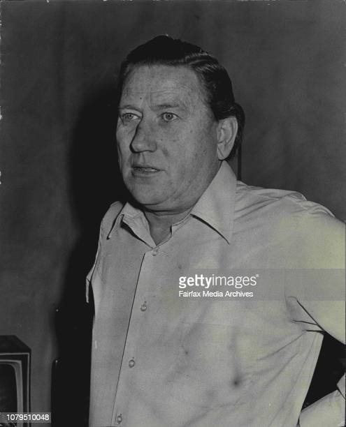 Entertainer Bill Brady who has had letters and other threats sent to actors equity about him July 13 1972