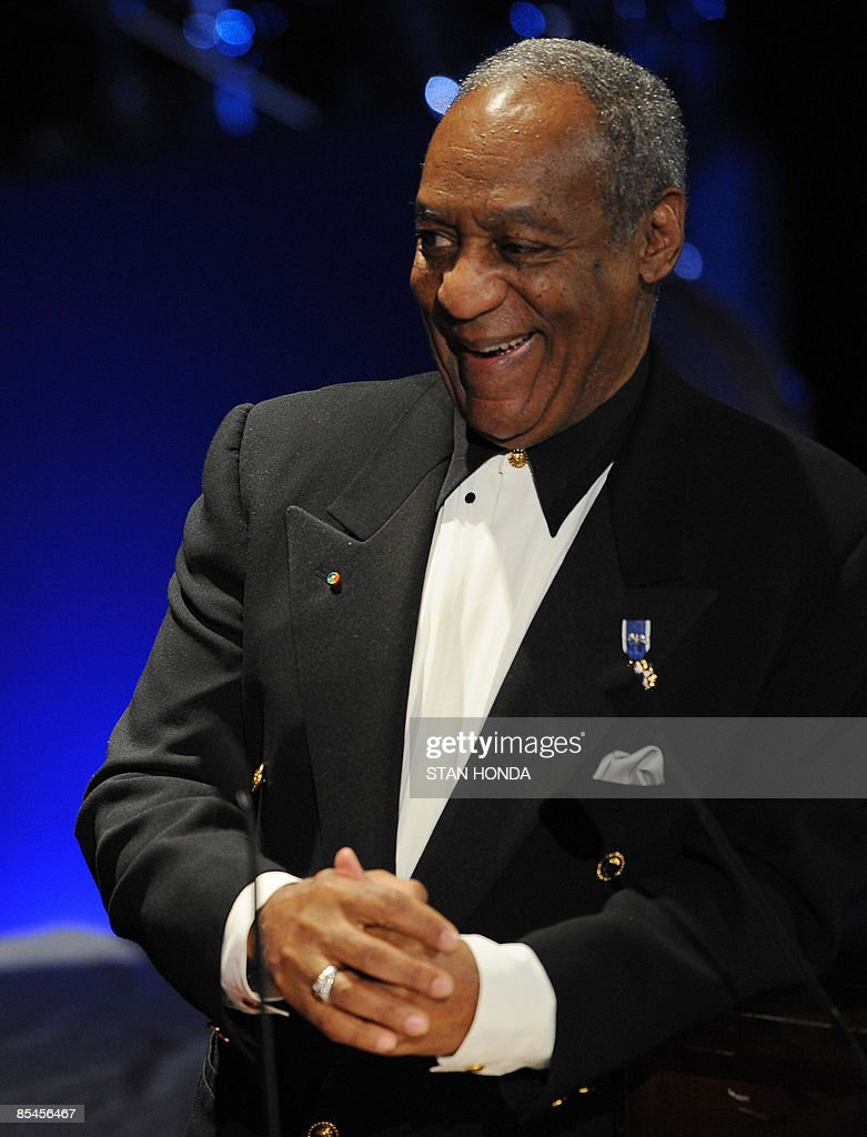 Entertainer Bill Cosby at the Jackie Robinson Foundation annual Awards Dinner March 16, 2009 at the Waldorf Astoria Hotel in New York. AFP PHOTO/Stan Honda