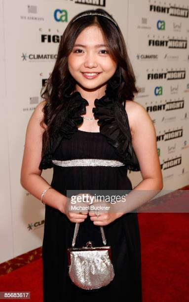 Entertainer Charice Pempengco arrives at Muhammad Ali's Celebrity Fight Night XV held at the JW Marriott Desert Ridge Resort Spa on March 28 2009 in...
