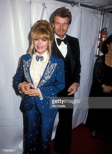 Entertainer Charo and husband Kjell Rasten attend the Plumstead Theatre Society Presents Henry FondaA Celebration of Life Tribute Gala on February 10...