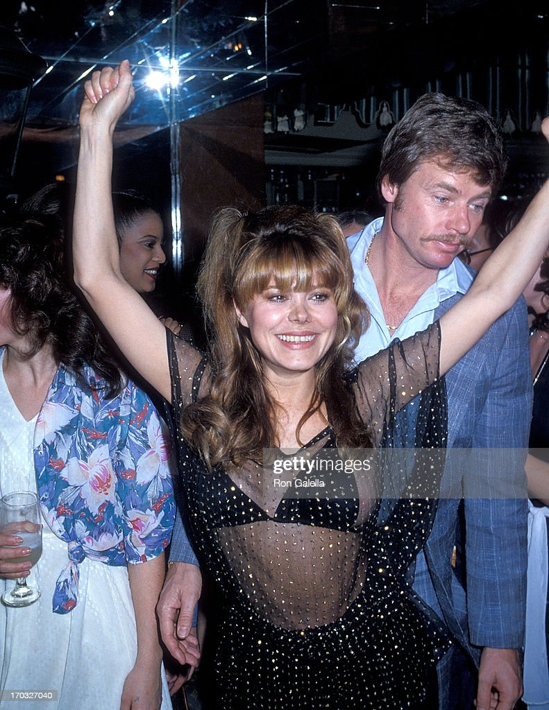 Charo and husband Kjell Rasten dance at the El Privado Room : News Photo