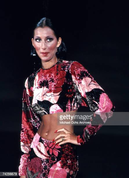 Entertainer Cher performs in August 1972