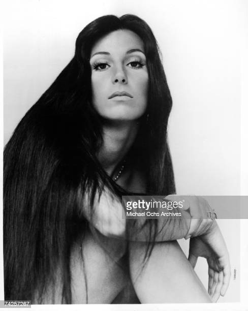Entertainer Cher poses for a portrait for Kapp Records in circa 1972