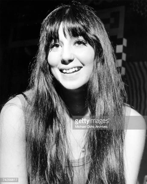 Entertainer Cher poses for a portrait in circa 1965
