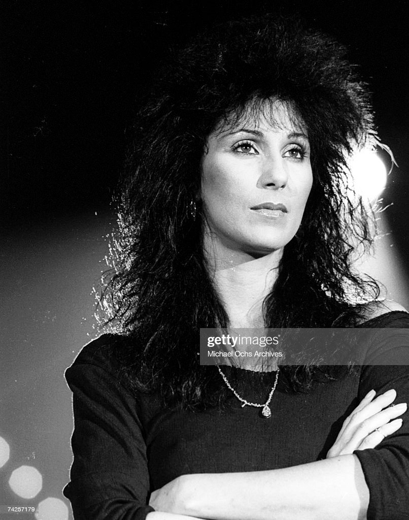 Entertainer Cher poses for a portrait in circa 1984.