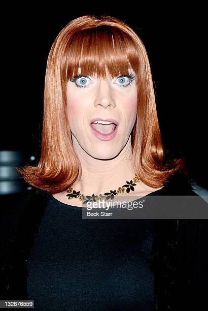 """Entertainer Coco Peru attends The L.A. Gay & Lesbian Center's """"40 Years of Family"""" gala at Westin Bonaventure Hotel on November 12, 2011 in Los..."""