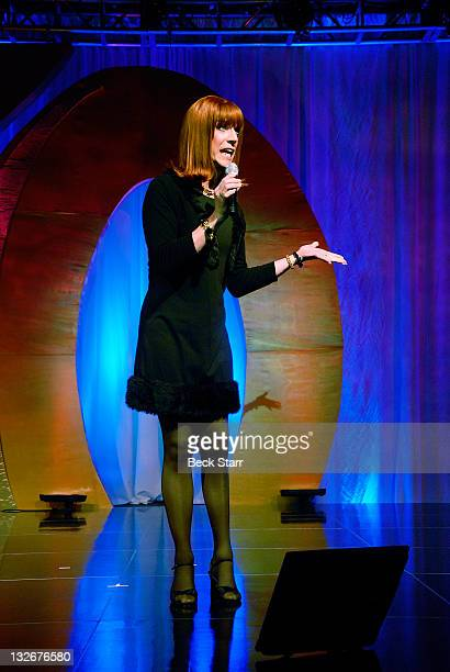 """Entertainer Coco Peru perfoms at The L.A. Gay & Lesbian Center's """"40 Years of Family"""" gala at Westin Bonaventure Hotel on November 12, 2011 in Los..."""