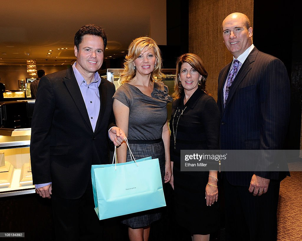 Donny Osmond Hosts 10/10/10 Engagement Event At The Forum Shops At Caesars : News Photo