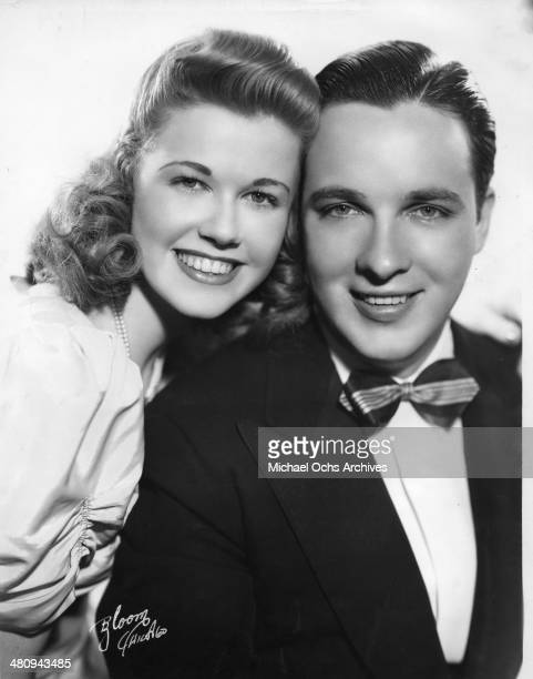 Entertainer Doris Day poses for a portrait with Bob Crosby in 1940