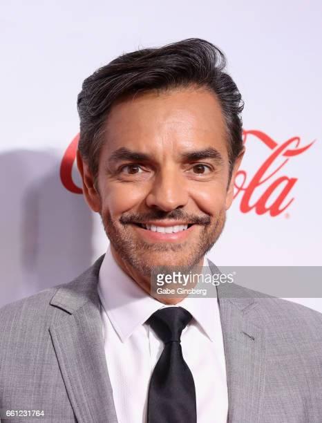Entertainer Eugenio Derbez, recipient of the International Achievement in Comedy Award, attends the CinemaCon Big Screen Achievement Awards at Omnia...