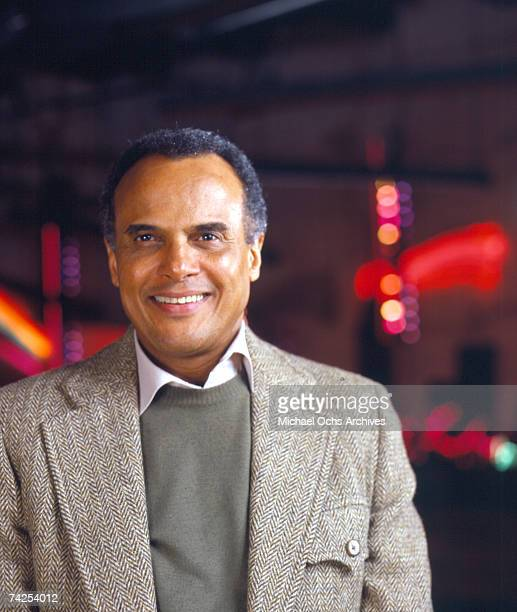 Entertainer Harry Belafonte poses for a portrait in circa 1985 in New York City, New York.