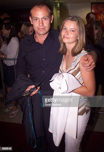 Entertainer Jason Donovan and wife attend ''The Fellowship of the Ring'' premiere December 21 2001 held at Village Greater Union Hoyts Cinema Complex...