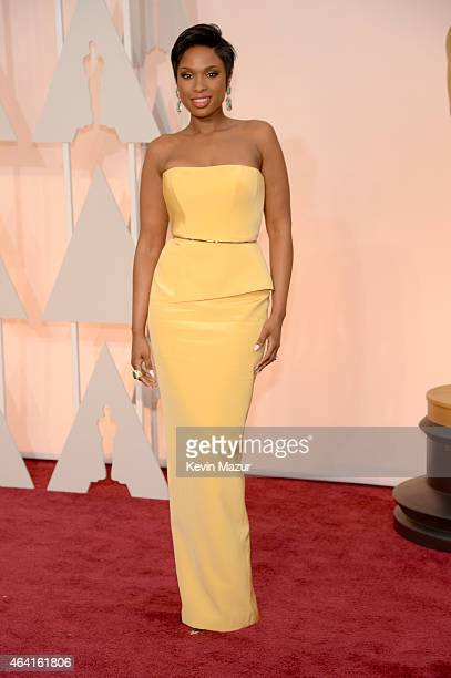Entertainer Jennifer Hudson attends the 87th Annual Academy Awards at Hollywood Highland Center on February 22 2015 in Hollywood California