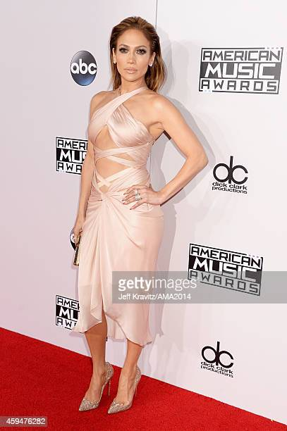 Entertainer Jennifer Lopez attends the 2014 American Music Awards at Nokia Theatre LA Live on November 23 2014 in Los Angeles California