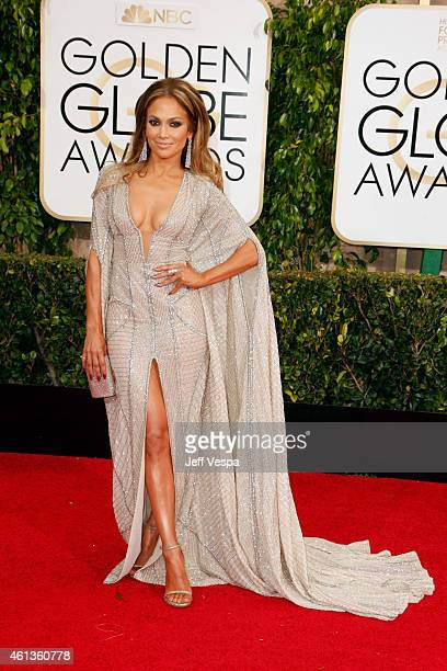 Entertainer Jennifer Lopez attends the 72nd Annual Golden Globe Awards at The Beverly Hilton Hotel on January 11 2015 in Beverly Hills California
