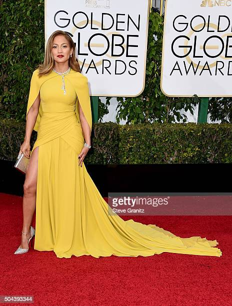 Entertainer Jennifer Lopez attends the 73rd Annual Golden Globe Awards held at the Beverly Hilton Hotel on January 10 2016 in Beverly Hills California