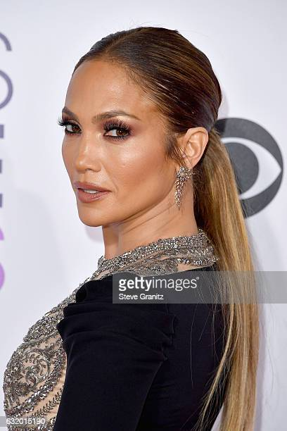 Entertainer Jennifer Lopez attends the People's Choice Awards 2017 at Microsoft Theater on January 18 2017 in Los Angeles California