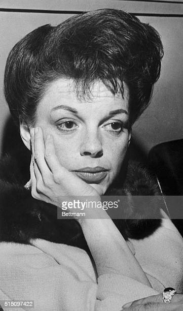 Entertainer Judy Garland appeared in Santa Monica Superior Court today to ask the court to stop estranged husband Sid Luft from seeing their...