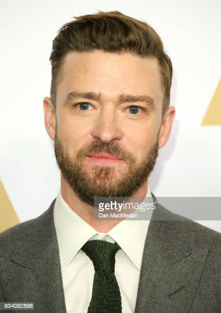 Entertainer Justin Timberlake arrives at the 89th Annual Academy Awards Nominee Luncheon at The Beverly Hilton Hotel on February 6 2017 in Beverly...