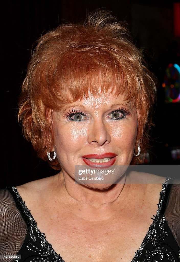 Entertainer Karon Kate Blackwell attends a meet and greet after Marty Allen's performance at the Downtown Grand Hotel & Casino on March 23, 2015 in Las Vegas, Nevada.