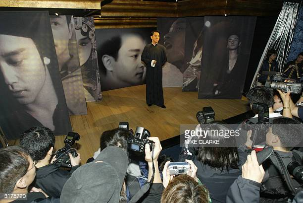 Entertainer Leslie Cheung's waxwork is unveiled at Madame Tussaud waxworks 31 March 2004 Leslie Cheung one of Hong Kong's most acclaimed entertainers...