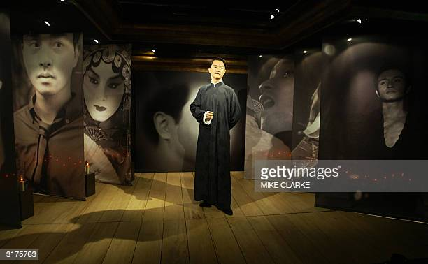 Entertainer Leslie Cheung's waxwork is unveiled at Madame Tussaud waxworks in Hong Kong 31 March 2004 Leslie Cheung one of Hong Kong's most acclaimed...