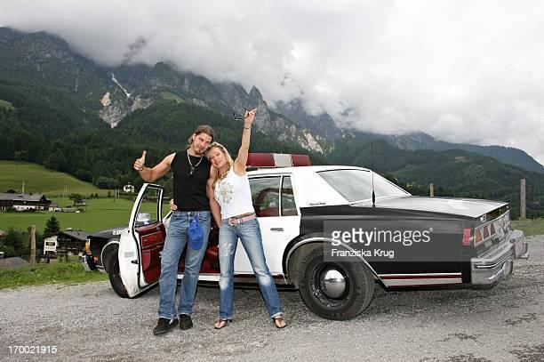 "Entertainer Lisa Fitz at friend Peter Knirsch When ""big border traffic"" in Leogang in 230606."