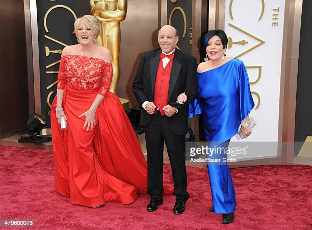 Entertainer Lorna Luft Joseph Luft and entertainer Liza Minnelli arrive at the 86th Annual Academy Awards at Hollywood Highland Center on March 2...