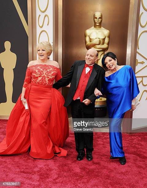Entertainer Lorna Luft Joseph Luft and entertainer Liza Minnelli attend the Oscars held at Hollywood Highland Center on March 2 2014 in Hollywood...