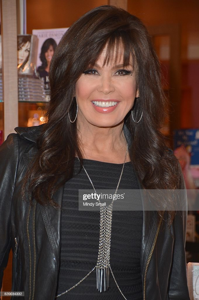 Marie Osmond Signs Copies Of Her New Album