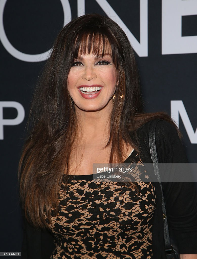 Entertainer Marie Osmond attends the premiere of Universal Pictures' 'Jason Bourne' at The Colosseum at Caesars Palace on July 18, 2016 in Las Vegas, Nevada.