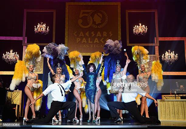 Entertainer Marie Osmond performs during the 50th anniversary gala at Caesars Palace on August 6 2016 in Las Vegas Nevada