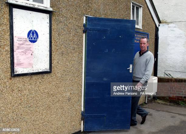 Entertainer Michael Barrymore arrives at the United Reformed Church Village Hall in Roydon Essex where he has set up a branch of Alcoholics Anonymous...