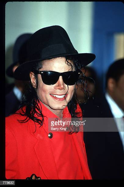 Entertainer Michael Jackson stands July 26, 1991 in Los Angeles, CA. Jackson, who was the lead singer for the Jackson Five by age eight, reached the...