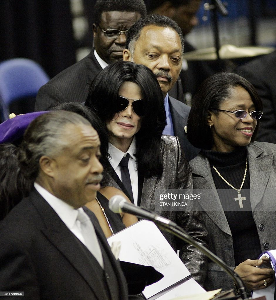Michael Jackson in James Brown's Funeral - YouTube