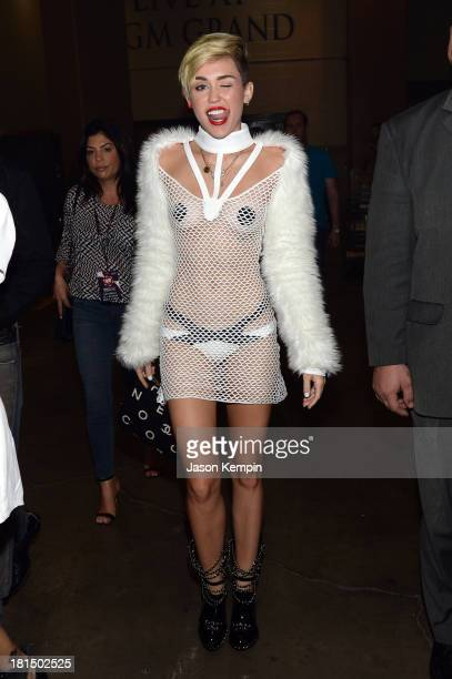 Entertainer Miley Cyrus attends the iHeartRadio Music Festival at the MGM Grand Garden Arena on September 21, 2013 in Las Vegas, Nevada.