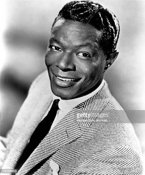 Entertainer Nat King Cole poses for a portrait in circa 1950