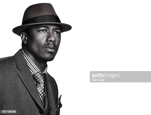 Entertainer Nick Cannon is photographed for Back Stage on November 9 in New York City PUBLISHED IMAGE