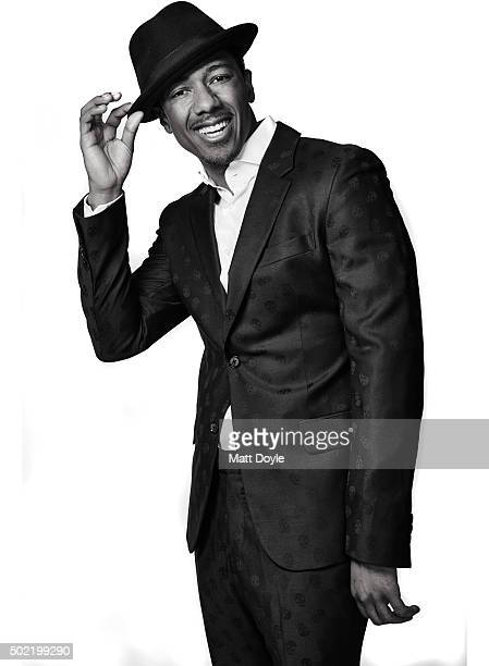 Entertainer Nick Cannon is photographed for Back Stage on November 9 in New York City