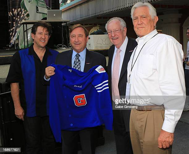 Entertainer Paul Casey President and CEO of the Las Vegas Convention Visitors Authority Rossi Ralenkotter Chairman of the Las Vegas Host Committee...