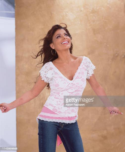 Entertainer Paula Abdul poses for a portrait in Los Angeles California