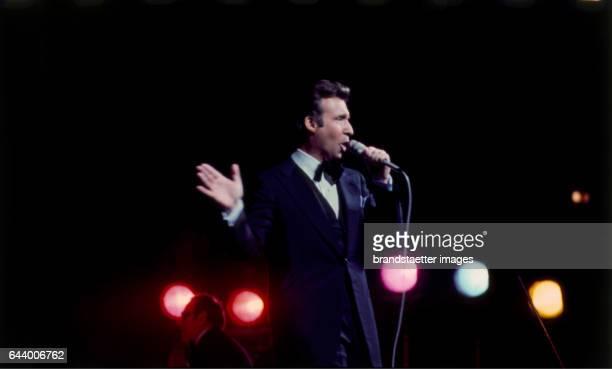 Entertainer Peter Alexander in the Stadthalle in Vienna Austria Photograph 1975